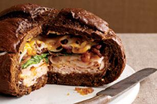 Sandwich consistant à la dinde