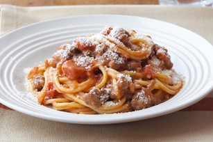 Better-For-You Spaghetti with Zesty Bolognese