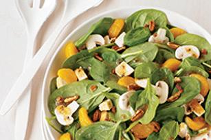 Salade minute au poulet et aux agrumes