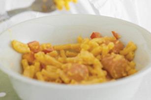 Mon macaroni et fromage