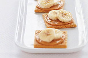 Banana & Peanut Butter Wafers