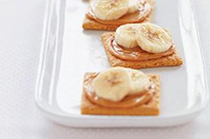 Biscuits graham à la banane et au beurre d'arachide Image 1