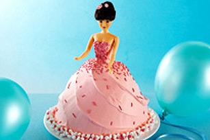 Gâteau en poupée