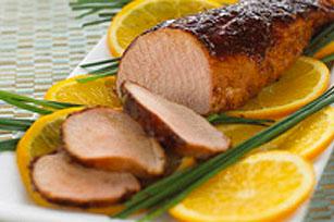 Filet de porc épicé au miel