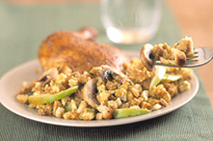 Deli Roasted Chicken with Mushroom and Apple Stuffing Image 1