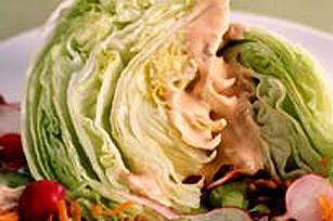 Salade de quartiers d'iceberg Image 1