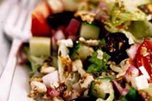 Classic Torn Greek Salad Image 1