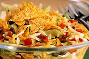 Shredded Tostada Salad Image 1