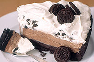 Triple-Chocolate Layer Pie Image 1