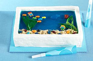 Gâteau « aquarium »