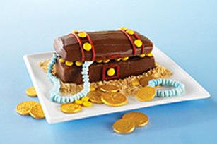 Gâteau coffre aux trésors