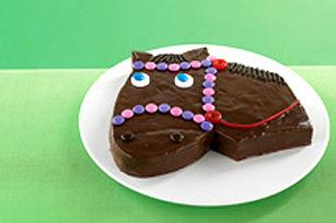 Giddy-Up Horse Cake