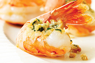 Crevettes farcies simples