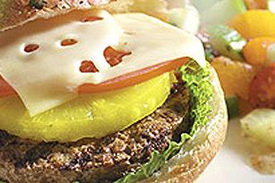 Burger végétarien aux ananas à la polynésienne Image 1