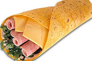 Sandwichs roulés avec jambon et salsa à la mexicaine KRAFT Image 1