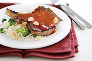 Simply Glazed Pork Chop Dinner