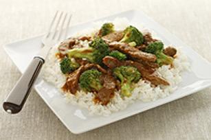Bœuf et brocoli en toute simplicité