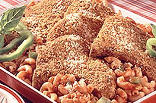 Plat de macaroni et de côtelettes de porc Image 1