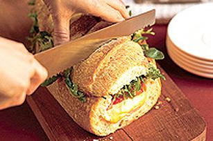 Sandwich étagé au jambon Image 1