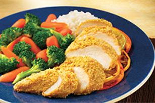Souper de poulet aux agrumes