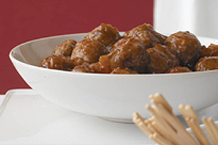 Sweet-and-Sour Appetizer Meatballs Image 1