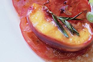 Pop-Pop's Grilled Peach Salad