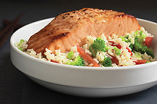 Asian Salmon Supper