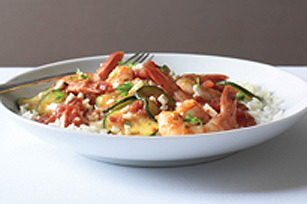 Easy Shrimp Skillet