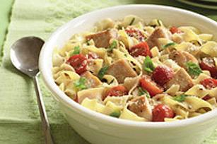 Italian Chicken & Tomato Pasta Toss