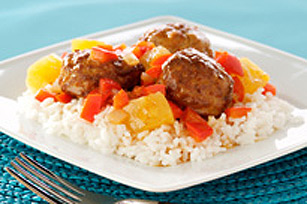 Polynesian-Glazed Meatballs
