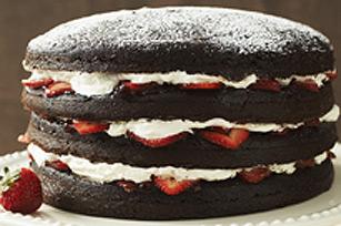 Gâteau double chocolat quatre étages Image 1