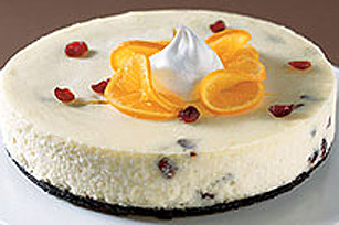 PHILADELPHIA White Chocolate Cranberry Cheesecake Image 1