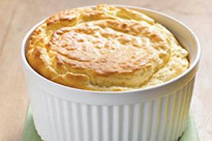 Parmesan Cheddar Souffle