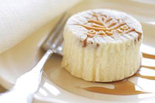 Mini-gâteaux au fromage, à l'érable et aux noix