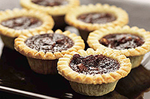 Chocolate Pecan Banana Tarts