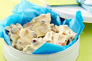 """Écorce """"lait de poule"""" au chocolat blanc Image 1"""