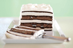 Gâteau OREO à la crème glacée et au fudge