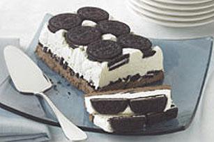 Dessert glacé «biscuits et crème»