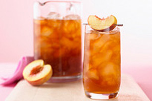 Sparkling Peach Tea