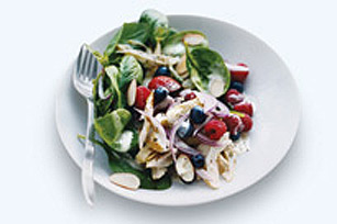 Chicken Berry Spinach Salad