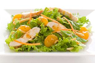 Salade de poulet à la mandarine