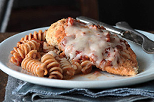 Chicken Parmesan with Rotini