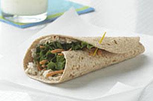 Sandwich roulé au thon