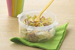 Petite salade du chef à secouer