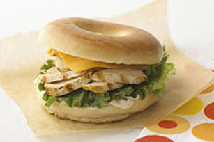 Sassy Bagel Sandwich