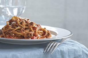 Spaghettis bolognaise en un tournemain