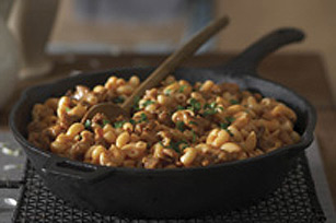 Macaroni with Sausage Image 1