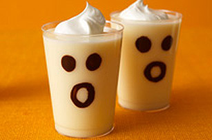 Ghostly Pudding Milk Shake