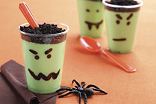 Scary Pudding Cups Image 1