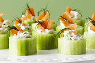 Rondelles de concombre farcies Image 1
